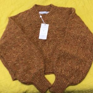 Brand new Christy Dawn Sweater in beekeeper